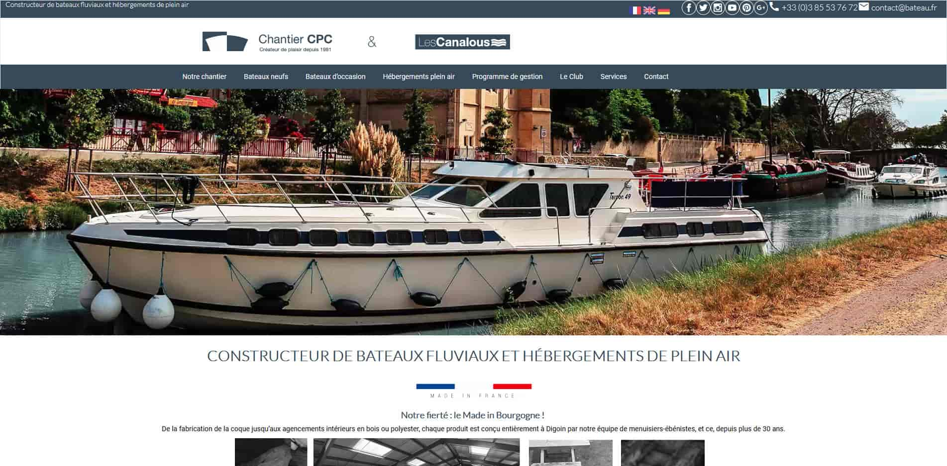 page d'accueil bateau.fr