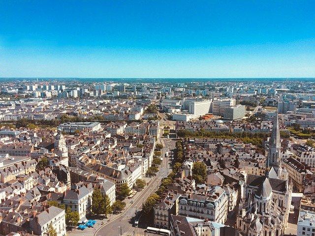 Nantes ville de France