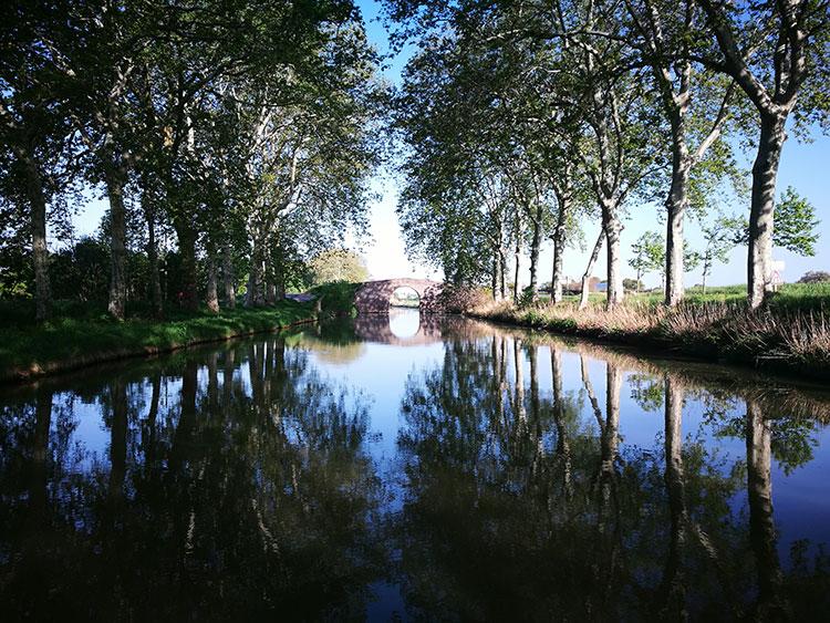 Homps depuis le canal