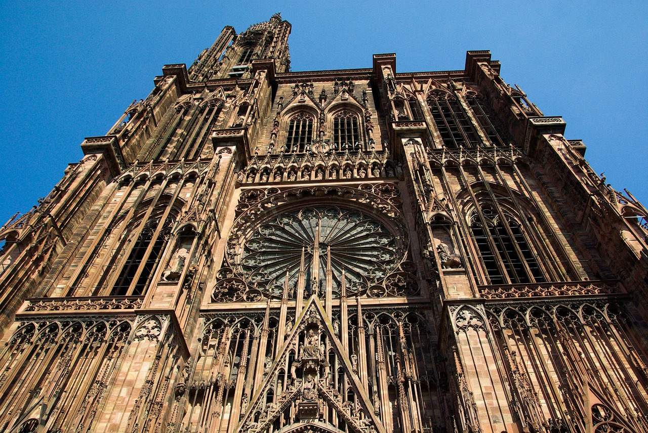 cathédrale de Starsbourg légende