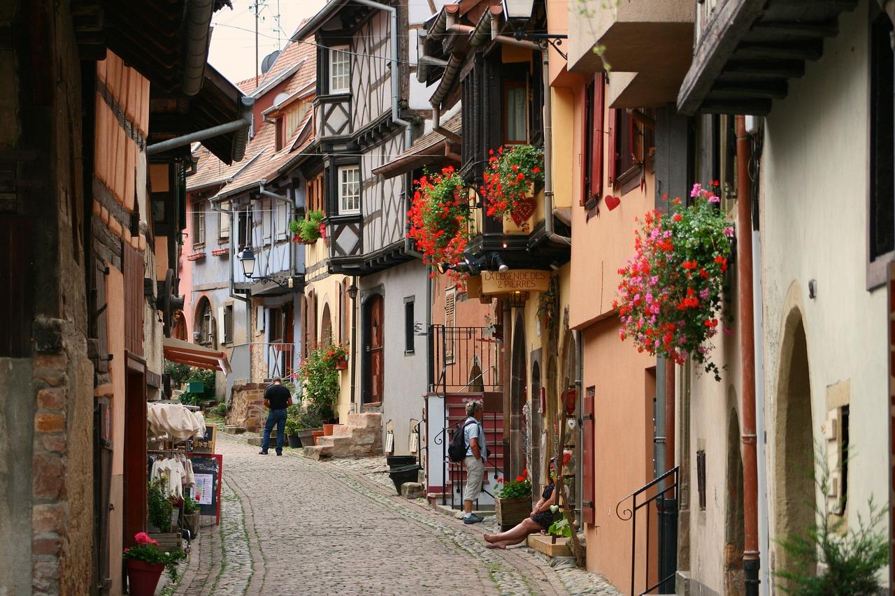 L'Alsace en bateau