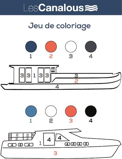 Jeu de coloriage