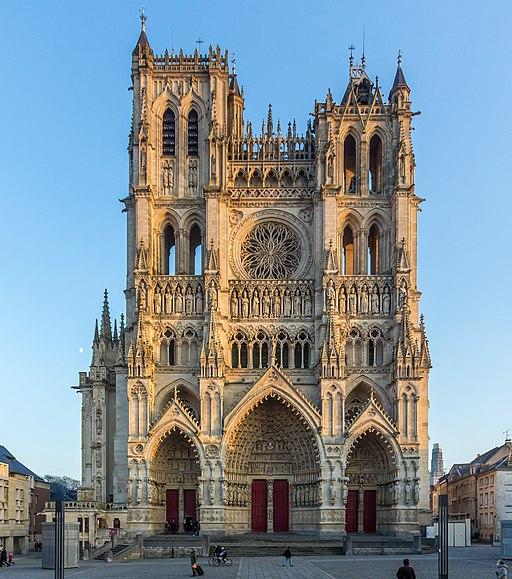 La Cathédrale Notre Dame d'Amiens - © Raimond Spekking