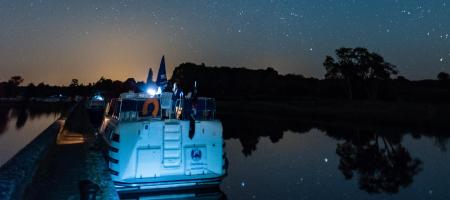 Une nuit sur votre bateau fluvial