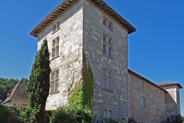 Das Schloss von Lustrac