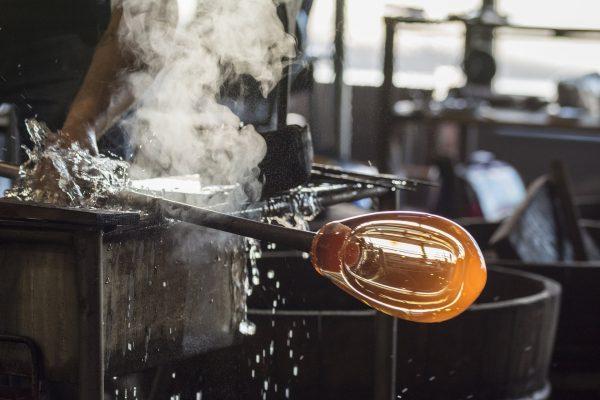 Les souffleurs de verre de Murano
