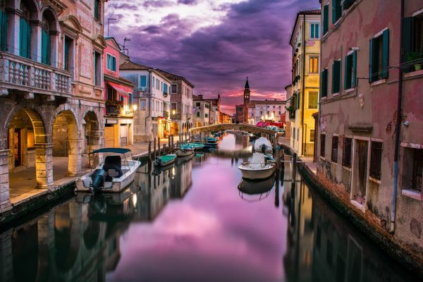 Venice, one of the most romantic cities in Europe