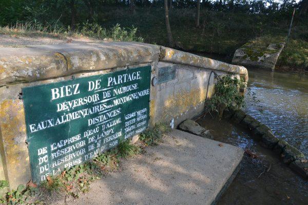 Le seuil de Naurouze – Ligne de partage des eaux