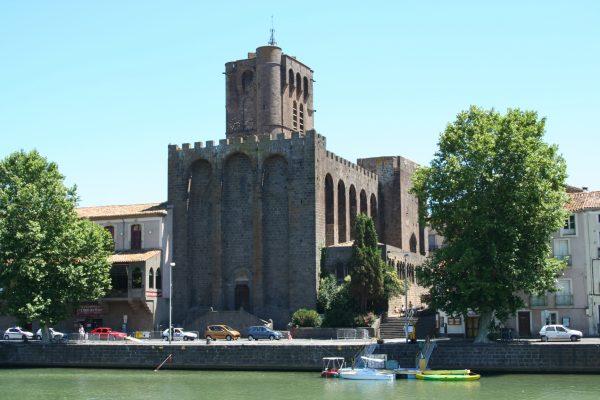 La cathédrale St Étienne à Agde