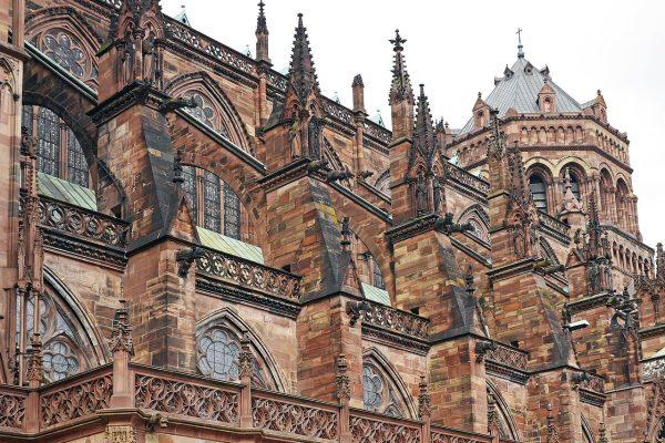 La cathédrale Notre Dame de Strasbourg