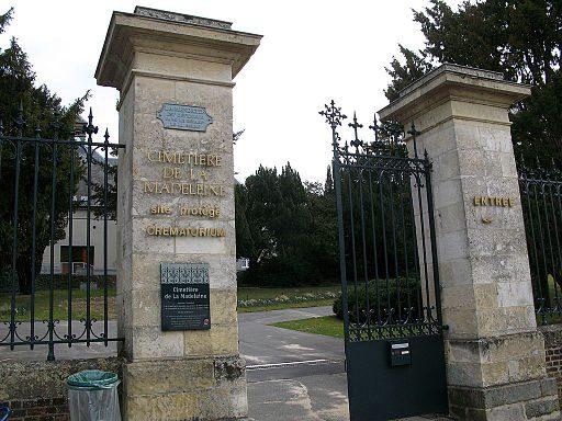 Le cimetière paysager de la Madeleine