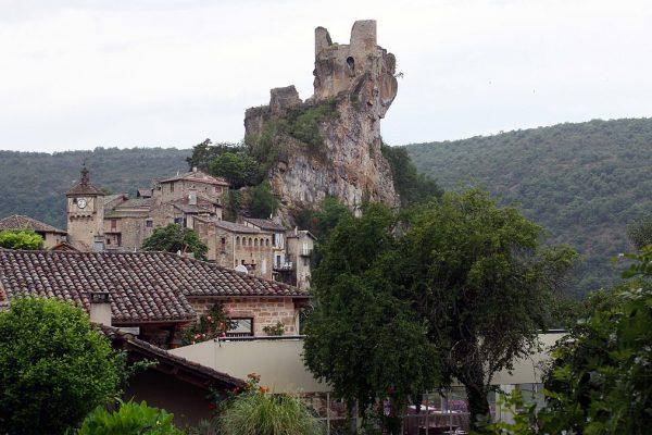 Das mittelalterliche Dorf Penne d'Agenais