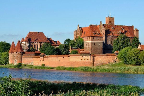 Malbork, le plus grand château en briques d'Europe