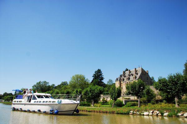 Le château de Châtillon en Bazois