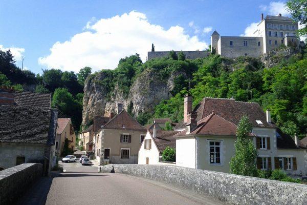 La réserve naturelle du Bois du Parc, à Mailly le Château.