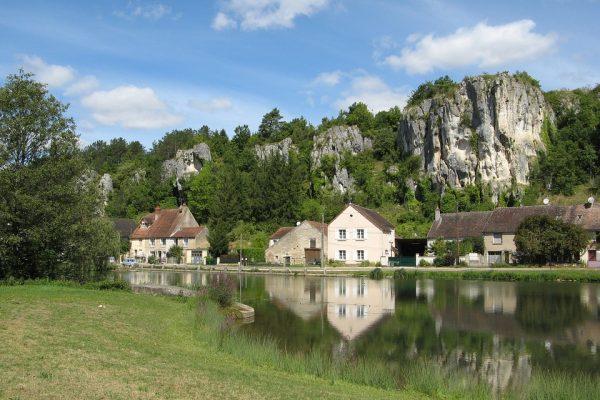 Les rochers du Saussois, à Merry sur Yonne